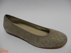Francesita Ante Taupe - Oca-Loca - Hecho en España - Zapatos niña - Disponible desde el n.º 31 al 40. Pedidos a: info@calzadoschiqui.net