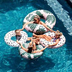 Pool Tubes by &SUNDAY Pool Floats, Instagram Feed, Sunday, Outdoor Decor, Design, Domingo