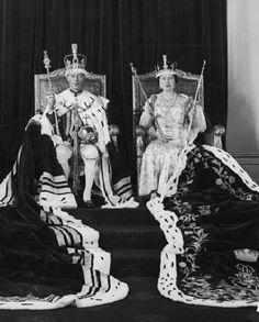 King George VI of Great Britain and Elizabeth