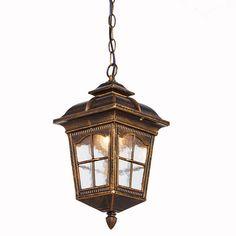 Outdoor Penadant light for balcony corridor Vintage Grape Garden Courtyard Pavilion Outdoor Light waterproof pendant lamps ZAG #Affiliate