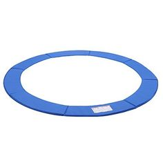 Garden and Outdoor Outdoor Living Garden games Trampoline Safety Pad SONGMICS, Standard size - The sizes of cm) is standard and compatible with various brands of trampolines Durable materials - 350 g/㎡ PVC on top layer and 150 g/㎡ PE on the bottom; 12ft Trampoline, Trampoline Ladder, Trampoline Springs, Rebounder Trampoline, Trampoline Safety, Trampolines, Playroom Design, Italy