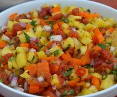 Fresh Pineapple Salsa Recipe | Paleo inspired, real food