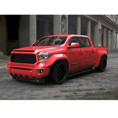 Tundra Widebody. Too bad it's lowered.