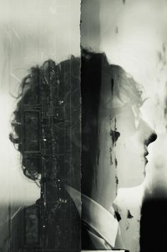 Broken Negative - Double exposure : Gabrial Deacon