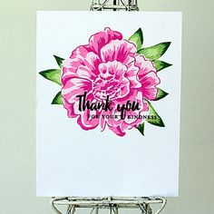 Today, I have a card to share for the the Altenew May Inspiration Challenge : I decided to use my Altenew Build-a-Flowe...
