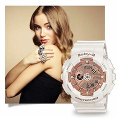 Bring class to your wardrobe with the Baby-G BA110-7A1.