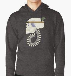 «Indie G skull» de TIERRAdesigner sudadera hoodie