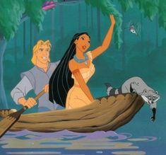 John Rolfe and Pocahontas | Pocahontas et John Smith
