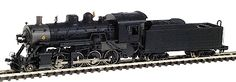 Bachmann 81152 N Scale Steam Powered Baldwin Consolidation N Scale Trains, Standard Gauge, Model Train Layouts, Model Trains, Locomotive, Toy, Clearance Toys, Locs, Toys