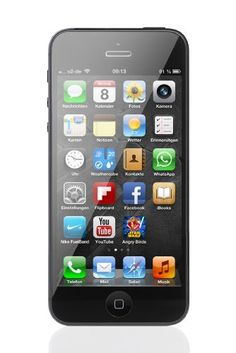 Apple iPhone 5 16GB (Black) - Unlocked #Apple #iPhone #16GB #Black #Unlocked