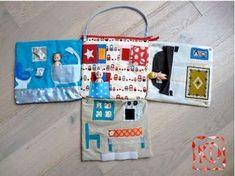 maison de poupée portable tissus sac