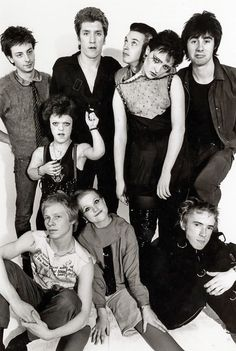 The Bromley Contingent./ the sex pistols.