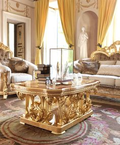 1 A unique and lavish sofa from our exclusive empire collection.