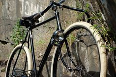1954 Raleigh Superbe Tourist Converted into a Path Racer by clintflack80, via Flickr