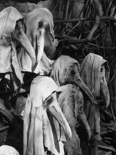 Mmmm Plague doctors have to be the creepiest things ever.