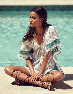 Liya Kebede for Grazia France August 2015 by Jason Kim