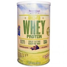 Reserveage Nutrition, Grass-Fed Whey Protein, Chocolate Flavor, 12.7 Oz (360 G), Diet Suplements 蛇