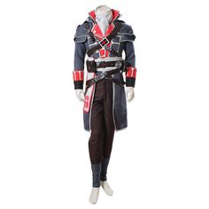 Custom+Made+Adult+Men's+Assassin's+Creed+Rogue+Shay+Patrick+Cormac+Halloween+Cosplay+Costume