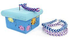 Fishy Loom Box #kids #crafts #stretchband #loopband #loombracelet
