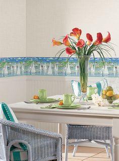 Sailboats wallpaper border. Border Portfolio by York - Pattern #: BG1650BD  http://www.wallpaperwholesaler.com/Shoppingcart/product_detail.asp?pageno=1=BG1650BD=5341=0=1