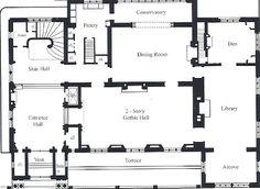 Schweppe Mansion Second Floor Plan Historic House Plans