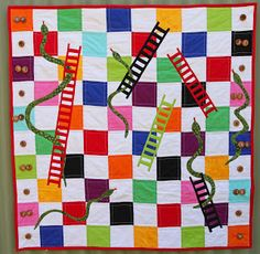 Linda Robertus: Snakes and Ladders Quilt