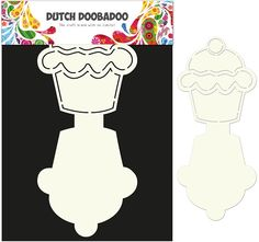 Dutch Doobadoo Dutch Card Art - Cupcake | Muffin