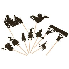 Moulin Roty Fairy Tale Shadow Puppets $18