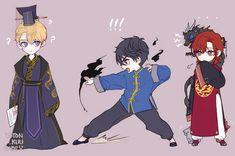 Kawaii Chibi, Cute Chibi, Kawaii Anime, Anime Guys, Manga Anime, Anime Art, Manhwa, Drawing Reference Poses, Light Novel