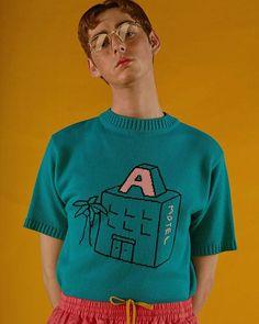 Ader error #ader#adererror#knit#knit#pink#motel