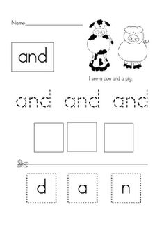 This is a comprehensive packet for teaching sight words.  This packet includes 12 weeks of activities.  Included are:  Weekly flashcards to print a...
