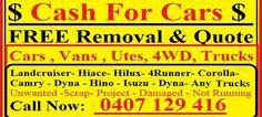 Car Removal & Cash For Cars In Sunshine Coast regions visit at www.carremovalsunshinecoast.com.au