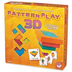 Take play to another dimension and discover your inner architect! Pattern Play 3D combines building and imagination to make the perfect STEM learning ...