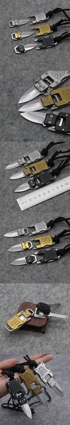 Mini Keychain Fixed Blade Knife 420 Blade Tactical Combat Survival Neck Knives tea Knife Outdoor Survival Camp Pocket Knives