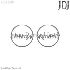 925 Sterling Silver Hoop Fashion Design Handmade Diamond  Earring Jewelry #Handmade #Hoop