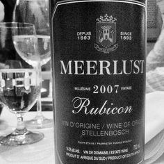 This South African Meerlust Rubicon is absolutely spectacular. If SF keeps producing wines such as these, we won't be enjoying these reasonable prices much longer. South African Wine, Local Color, Rubicon, Wine Recipes, Farms, Champagne, Colour, Vintage, Live