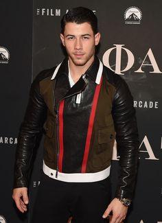 "Nick Jonas attends the premiere of ""GOAT"" at Landmark's Sunshine Cinema in New York City. We rag on Nicky Tryhard pretty hard, but if we're being Jonas Brothers, Mma, Lucio Saints, Nick Jonas Pictures, Nick Jonas Smile, New York Movie, Mixed Guys, Sexy Men, Hot Men"