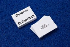 Branding for Delores Butterball by Mildred & DuckDelores...