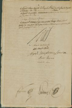 marie antoinette signature marriage - Google Search