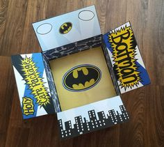 Deplpoyment Care Package- Holy Care Package Batman- Etsy Shop: One Day Closer Designs