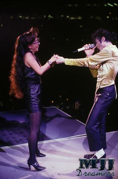 I love this picture from MJ's Dangerous World Tour.
