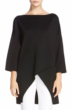 St. John Collection Milano Knit High/Low Tunic available at #Nordstrom