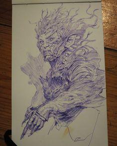 ArtStation - Daily Sketches Week 27, Even Amundsen