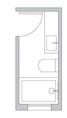 Beautiful master bathroom decor some ideas. Modern Farmhouse, Rustic Modern, Classic, light and airy bathroom design some ideas. Bathroom makeover suggestions and master bathroom remodel some ideas. Bathroom Layout Plans, Small Bathroom Layout, Bathroom Floor Plans, Bathroom Flooring, Bathroom Ideas, Bathroom Organization, Bathroom Renovations, Layout Design, Bath Shower Screens