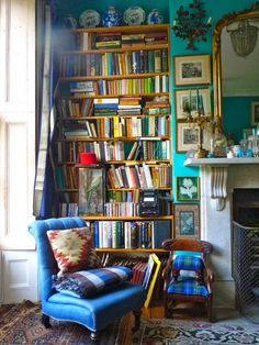 A Book Worms Dream : Reading Spaces....