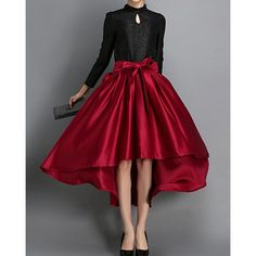 Cheap jupe longue, Buy Quality women tutu directly from China long skirt Suppliers: European Style 2015 New Ladies Elegant Audrey Hepburn High Waist Long Skirts Womens Tutu Faldas Saias Longa Jupe Longue Looks Style, My Style, Bcbg, Bubble Skirt, Style Retro, Trendy Style, Trendy Fashion, Womens Fashion, Holiday Fashion