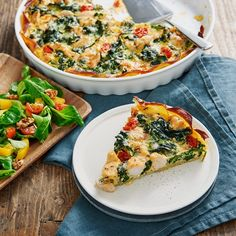 Tart Recipes, Greek Recipes, Italian Recipes, Healthy Recipes, Healthy Meals, Spinach Puffs Recipe, Good Food, Yummy Food, Danish Food