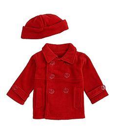 Starting Out Infant Fleece Peacoat #Dillards