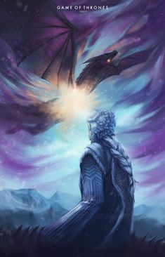 ArtStation - Game of Thrones - Viserion, Nicolás Ahumada