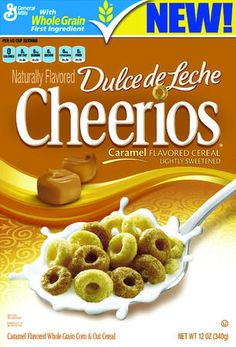 Because Latinos don't actually eat REAL Cheerios, we need Dulce de Leche Cheerios